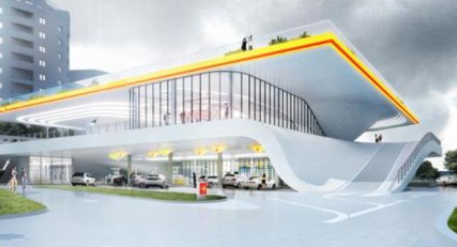 Współczesna architektura polska: stacja paliw 2018
